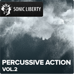 Gema-free stock Music Percussive Action Vol.2