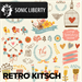 Music and film soundtrack Retro Kitch